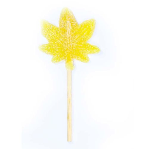 CBD Factum Lollipops Lemon Flavor Without Packaging