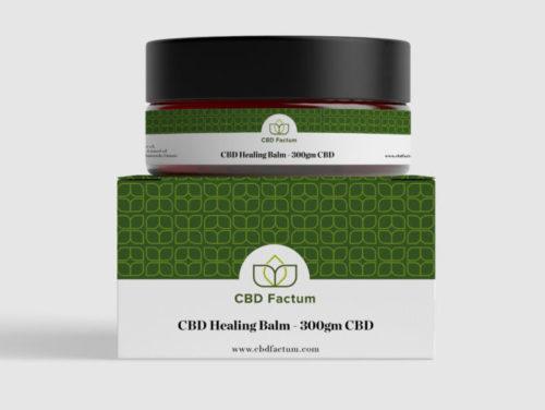 CBD Factum Balzam s obsahom 300 mg CBD na závažné kožné problémy