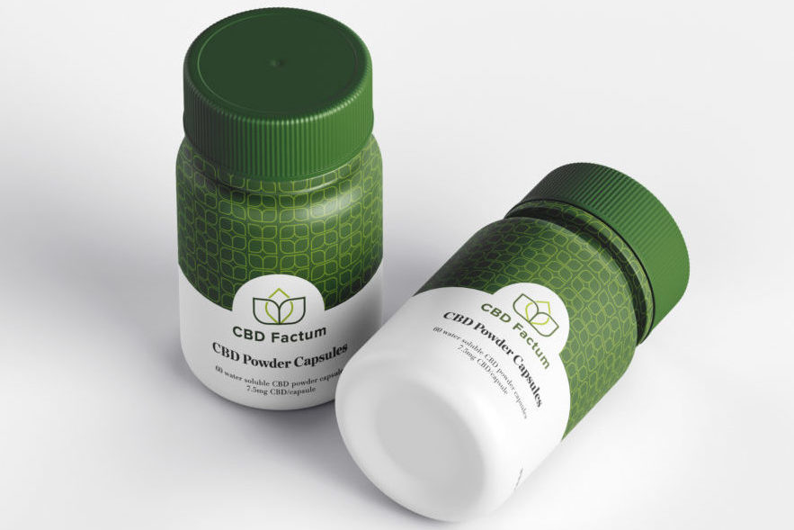 CBD Factum Tasteless Powder Bottle