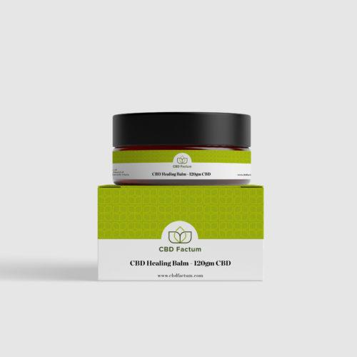 CBD Factum 120 mg CBD Balm For Nice Skin Bottle And Box