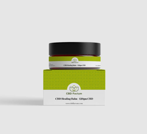 CBD Factum 120 mg CBD Balm For Nice Skin Bottle And Box