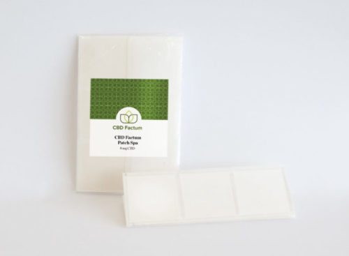 CBD Factum CBD Patches With Packaging
