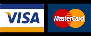 CBD Factum gebrauchtes VISA MasterCard Logo